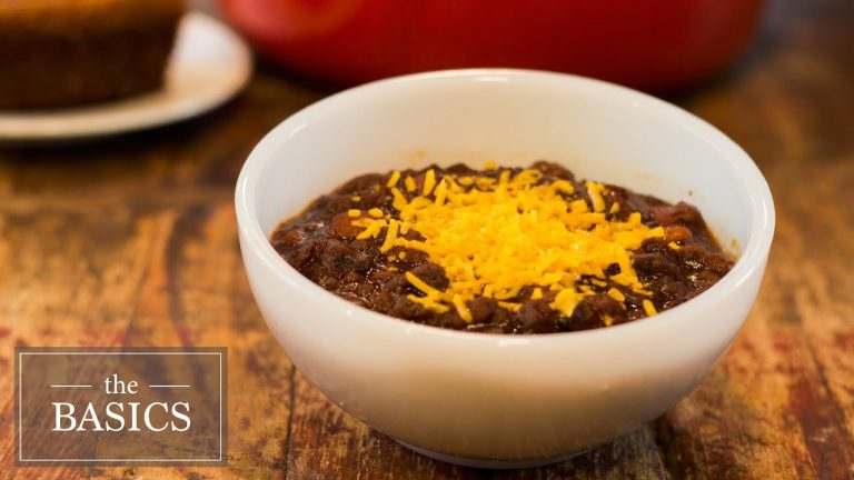 Vegetarian Chili Recipe Video