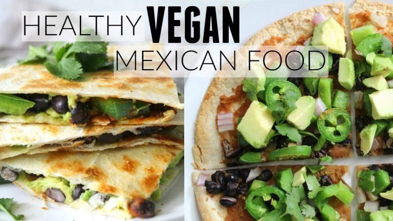 Healthy Vegan Quesadilla And Pizza: Recipe Video