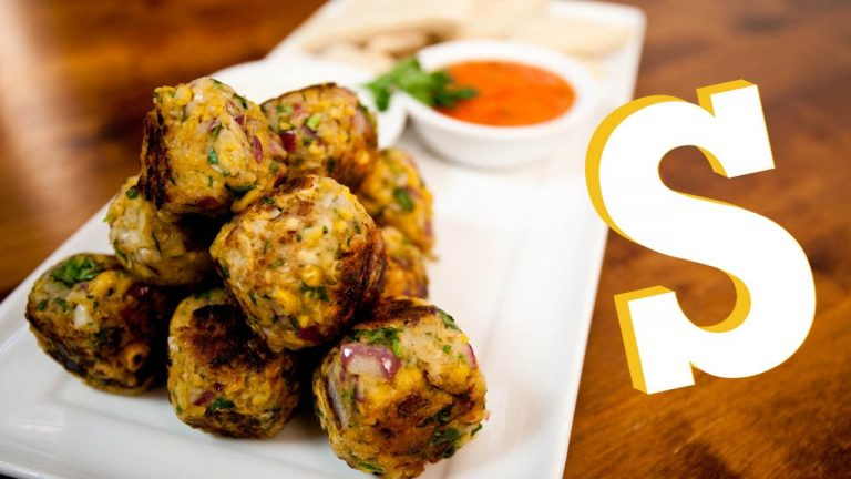 Pan-Fried Less Oil Falafel Balls Recipe