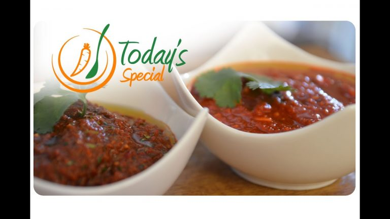 Vegan Red Chili Sauce: Recipe Video
