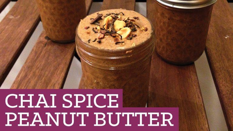 Chai Flavored Peanut Butter: Recipe Video