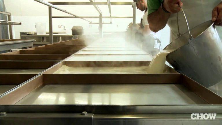 Tofu And Yuba Making At Hodo Soy Beanery, Oakland California