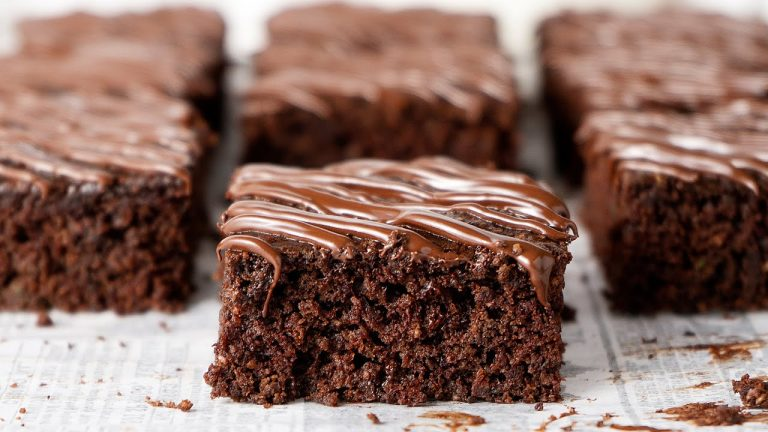 Healthy Vegan Zucchini Brownies: Recipe Video