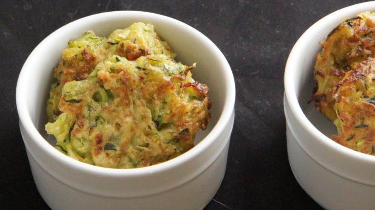 Vegan Zucchini Fritters /  Zucchini Croquettes: Recipe Video
