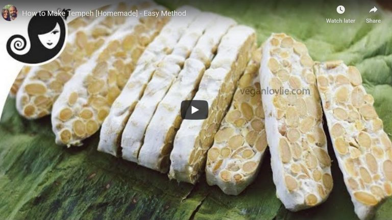 How To Make Tempeh At Home: Recipe Video