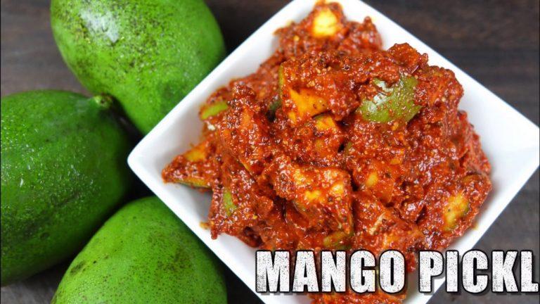 Easy Indian Mango Pickle: Recipe Video