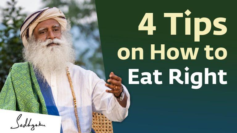 The Benefits Of Intermittent Fasting: Sadhguru Jaggi Vasudev On Video