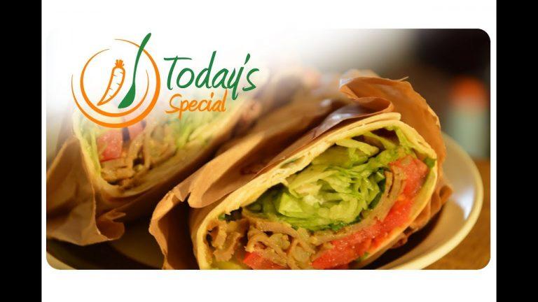 Vegan Shawarma With Seitan: Recipe Video