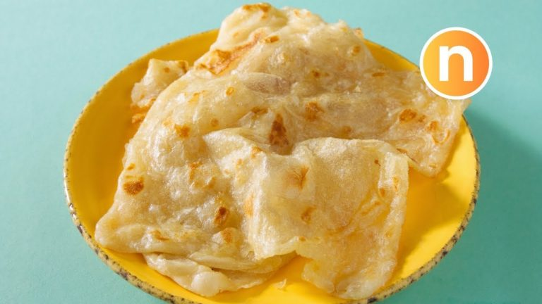 Roti Canai Vegan Recipe: No Condensed Milk, No Eggs
