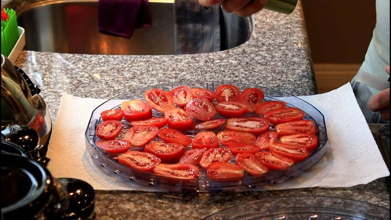 Drying Tomatoes In Food Dehydrator: How To Video